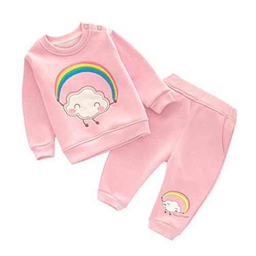 Bebé Sudaderas Pantalones Conjuntos Ropa Chándales