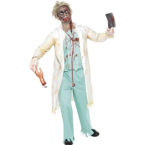 tüm Zombie Doktor als gruseliger Arzt Größe L (Gruseliger Als Halloween)