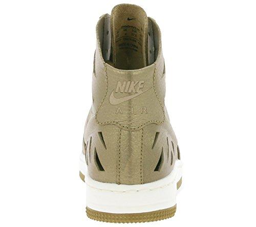 Nike - W Af1 Ultra Force Mid Joli, Scarpe sportive Donna Oro (Mtlc Gldn Tn / Mtlc Gldn Tn-Gldn)