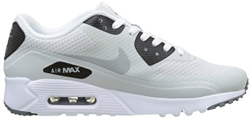 Nike Air Max 90 Ultra Essential, Sneakers basses homme Argent (Pure Platinum/Wolf Grey/Cool Grey/Black)
