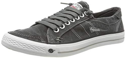 Dockers by Gerli Herren 30ST027 Sneaker - Grau (Grau 200) , 46 EU