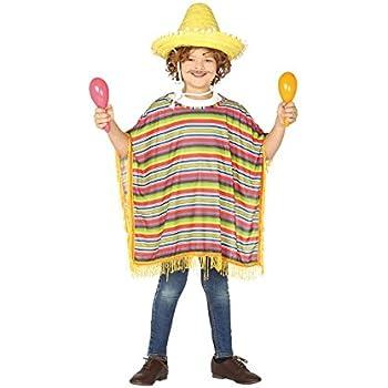 Déguisement pour enfant - Poncho mexicain: Amazon.fr: Jeux