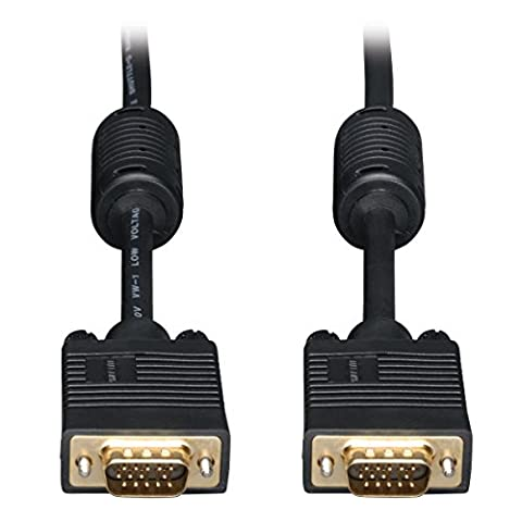 Tripp Lite (30.5m) SVGA/VGA Monitor Gold Cable with RGB Coax