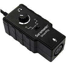 """Saramonic """"SmartRig"""" Adaptador de Audio XLR Micrófono con Control de Nivel y Alimentación Phantom Power iPhone, iPad, iPod, Mac & Smartphones Android"""