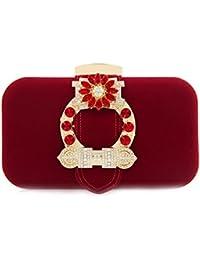 Flada sac de soirée pour femmes coeur forme flanelle simple sac de mariage pochette embrayage BcFMV9yAk