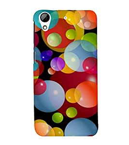 PrintVisa Colorful Balloons Pattern 3D Hard Polycarbonate Designer Back Case Cover for HTC Desire 728 Dual Sim :: HTC Desire 728G Dual Sim