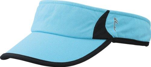 Myrtle Beach Uni Cap Running Sunvisor, turquoise/black, One size, MB6545 tubl