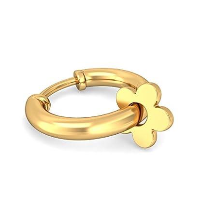 BlueStone 22k (916) Yellow Gold Infinite Affection Hoop Earrings