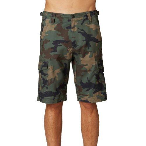 Fox - - Jugend Slambozo Camo Cargo-Shorts, 7, Green Camo (Slambozo Camo)