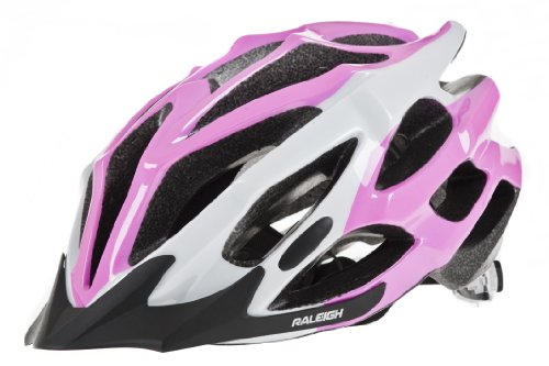 RSP Extreme III Fahrradhelm, Herren, Extreme III, Blanc - Rose/Blanc