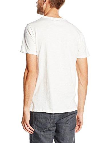 Lee Herren T-Shirt Logo Tee Weiß (Cloud Dancer HA)
