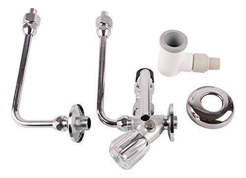 Sanitop-Wingenroth 05220 7 Speicheranschlussgarnitur mit Sicherheitsventil, 1/2 Zoll