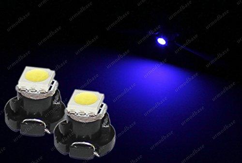Preisvergleich Produktbild 2x T4.2Neo Keil 1–1210LED SMD blau Armaturenbrett Cluster Speedo Instrument Glühbirne 12V