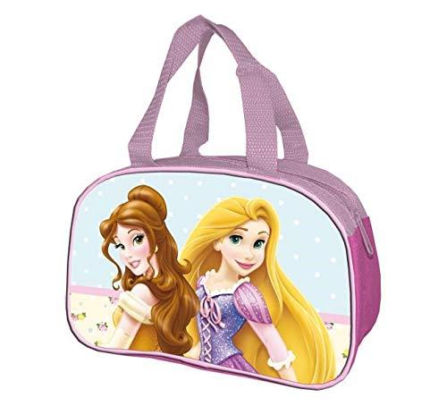 ALMACENESADAN 2541; Sacs de Princesse Disney; Trousse de Toilette Basse, 2 Princesses; Dimensions 22,5x16x9 cm