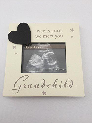 Rahmen für ein Ultraschallbild, Großeltern Countdown, wie viele Wochen bis wir dich Kennenlernen, Geschenk