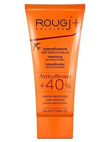 Crema abbronzante attiva bronz rougj-h, 100 ml, (etichetta in lingua italiana non garantita)