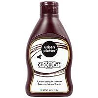 Urban Platter Premium Chocolate Syrup, 650g / 22.9oz [Perfect Topping, Premium Quality Chocolatey Treat]