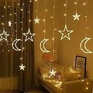 MR.3 Star Moon LED String Light Ramadan Decoration 3M For Home EID Mubarak Wedding Birthday Party Indoor Decor
