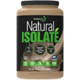 Bodylogix Natural Whey Protein Nutrition Shake, Isolate Dark Chocolate, 1.85 Pound