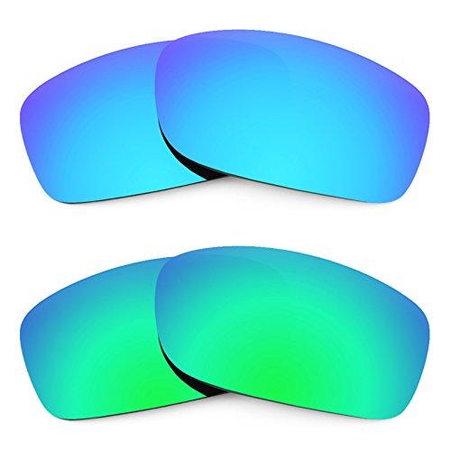 Revant Ersatzlinsen für Oakley Fives Squared Polarisiert 2 Paar Kombipack K006