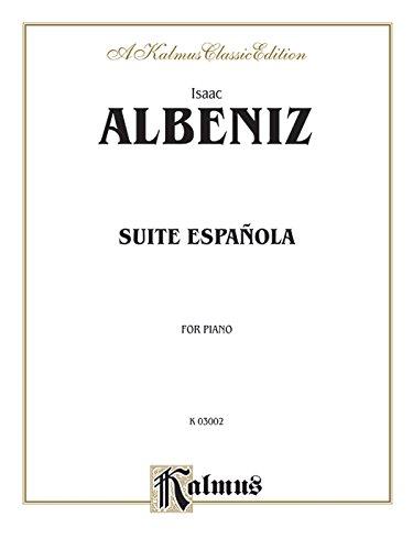 Suite Espanola (Kalmus Edition)