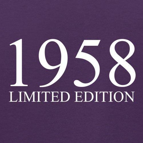 1958 Limierte Auflage / Limited Edition - 59. Geburtstag - Herren T-Shirt - 13 Farben Lila