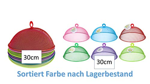 Fliegenhaube/Abdeckhaube / Lebensmittel - Haube aus Metall Ø 30 x 12 cm