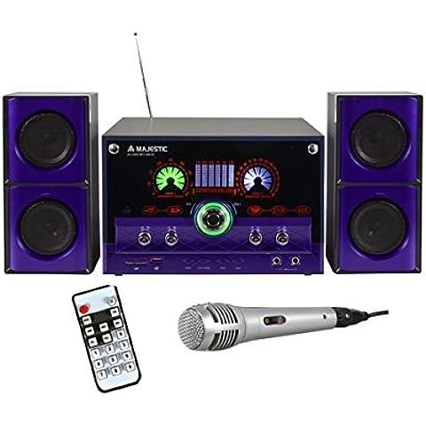 Majestic AH-2340 MP3 USB SD Sistema Home Audio