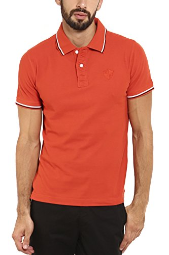 Classic Polo Men Insta Dry Cotton Red Half Sleeve T-shirts