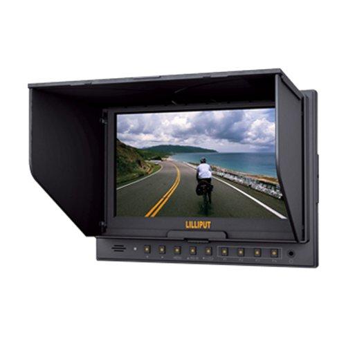 Lilliput - Monitor TFT LCD a colori 5D-ii/O/P, con ingresso e uscita HDMI, per Canon 5D II e fotocamere con porta HDMI, dimensioni 7