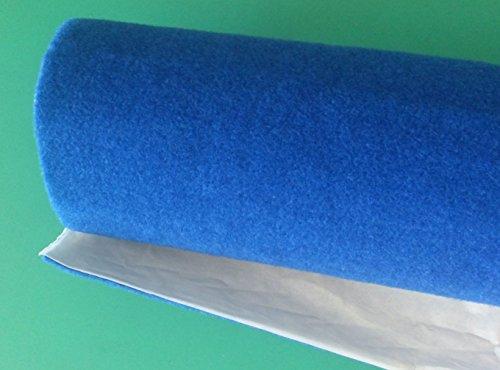 Sh - Moqueta acústica adhesiva - Color azul - Rollo