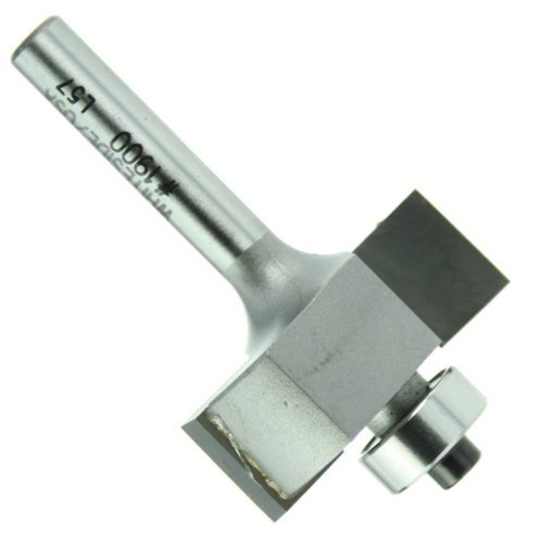 Whiteside Router Bits 1900 Standard Rabbeting Bit with 1-1/4-Inch Large Diameter, 3/8-Inch Cutting Diameter and 1/2-Inch Cutting Length by Whiteside Router Bits