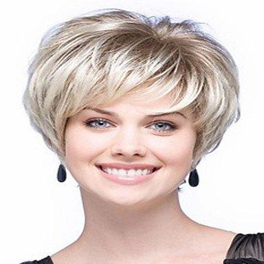 HJL-moda parrucche sintetiche onda bionda parrucche di alta qualità , blonde