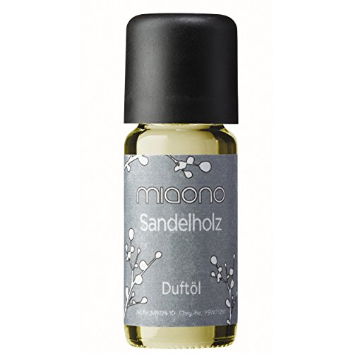 Duftöl Sandelholz - feiner Sandalwood Raumduft - Aromaöl für Duftlampe und Diffuser (Sandelholz-kerzen)
