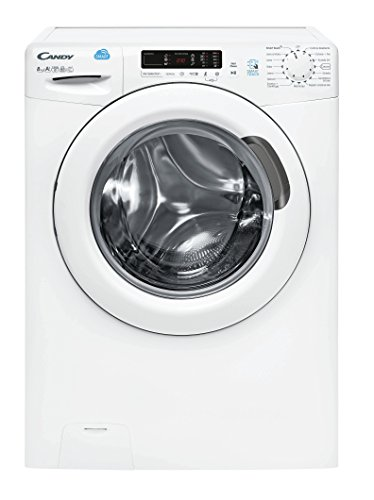 CANDY CS1282D301 INDEPENDIENTE CARGA FRONTAL 8KG 1200RPM A+++ COLOR BLANCO - LAVADORA (INDEPENDIENTE  CARGA FRONTAL  COLOR BLANCO  LCD  IZQUIERDA  ACERO INOXIDABLE)