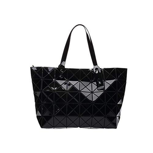 Frauen Top-Griff Taschen Mode Schultertasche Designer Handtasche Geometrie Bao Bag Black 32X12X26 cm About