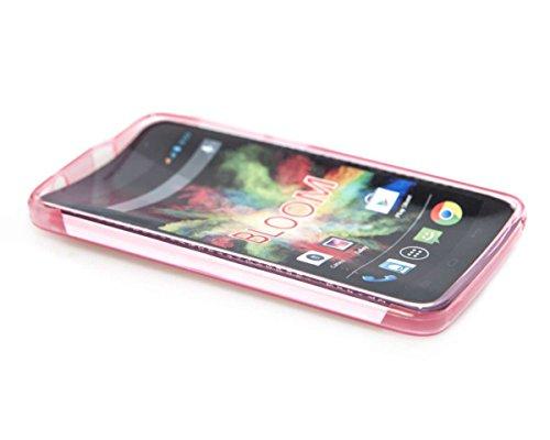 caseroxx TPU-Hülle für Wiko Bloom, Tasche (TPU-Hülle in pink)