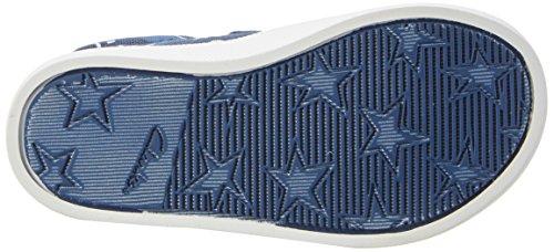 Clarks Halcy High Fst, Chaussures Marche Bébé Garçon Bleu (Navy Combi)
