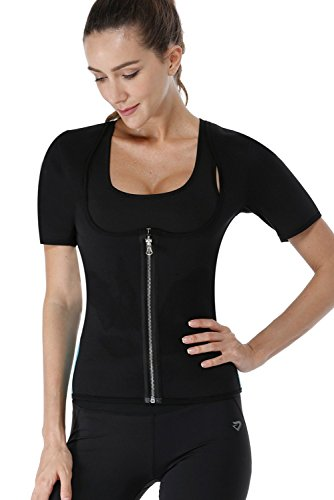 Fajas Reductoras Adelgazantes Camiseta Reductora Sauna Chaleco Neopreno de Sudoración para Deporte