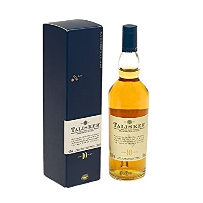 Talisker 10 Year Old Single Malt Scotch Whisky (Case of 12 x 20cl Bottles)