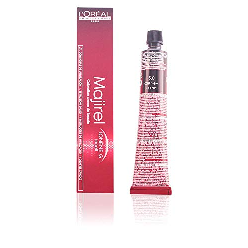 L'Oreal Majirel 5.0, Color Castaño Claro Ultra Natural - 100 gr