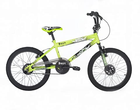 Flite Boy's Panic BMX Bike, 20 inch - Green