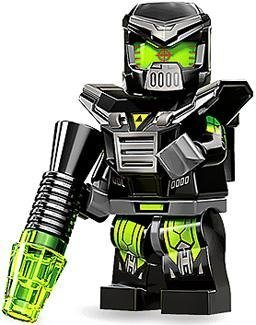 Lego Mini-Figures Series 11, Evil Mech by LEGO TOY (English Manual) -