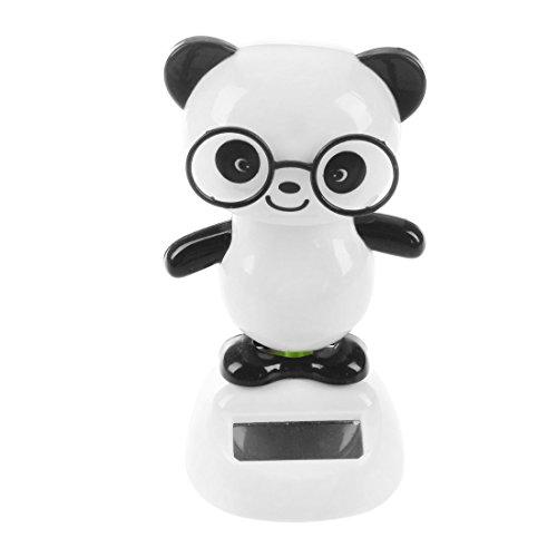 TOOGOO Solar Power Dancing Figures Panda novità da Tavolo Car Toy Ornament