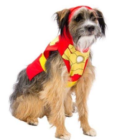 Marvel Comics Iron Man 3Hunde Kostüm Klein