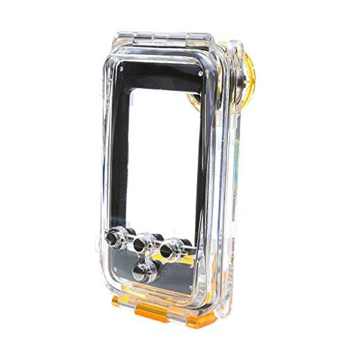 MagiDeal Wasserdicht Unterwassergehäuse 40m Schwimmen Tauchen Schutzhülle Gehäuse Kamera-Gehäuse Unterwasser Seashell Case geeignet iphone 6/iPhone 5/5s/5c / iPhone 6plus - Für Iphone 5 / 5s / 5c Gelb, Für Iphone 5 / 5s / 5c