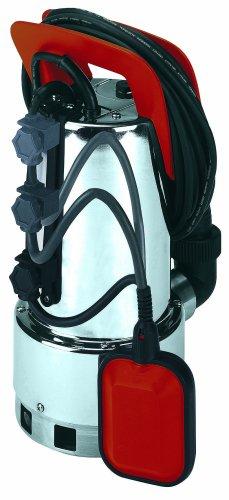 Einhell-Schmutzwasserpumpe-RG-DP-1035-N-1050-W-max-18500-lh-max-Frderhhe-8-m-Fremdkrper-bis-35-mm-Edelstahl-Pumpengehuse