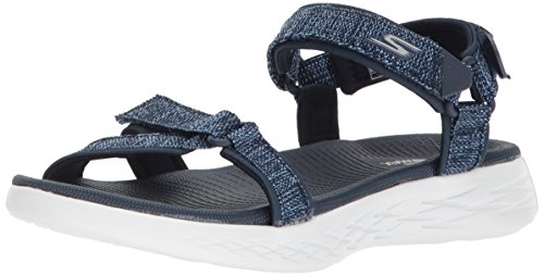 Skechers Damen Sandalen ON The GO 600 Radiant Blau, Schuhgröße:EUR 41