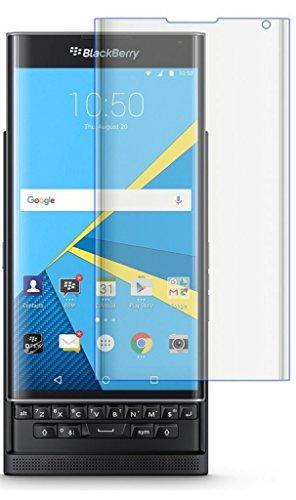 """Funnytech_ - Cristal templado para Blackberry Priv """"Pantalla completa"""" color Transparente. Protector de pantalla transparente para Blackberry Priv. Vidrio templado antigolpes (Grosor 0,3mm) – Kit de instalación incluido"""