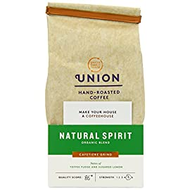 Union Organic Natural Spirit Blend Espresso Ground Coffee 200 g (Pack of 3)